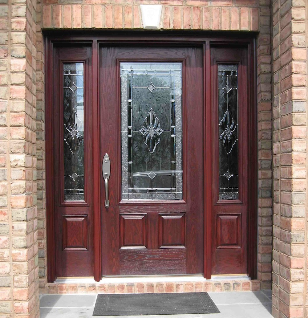 Side panel doors royal home products inc serving long for Side doors for houses
